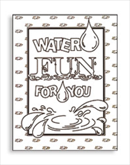 Water Fun coloring book